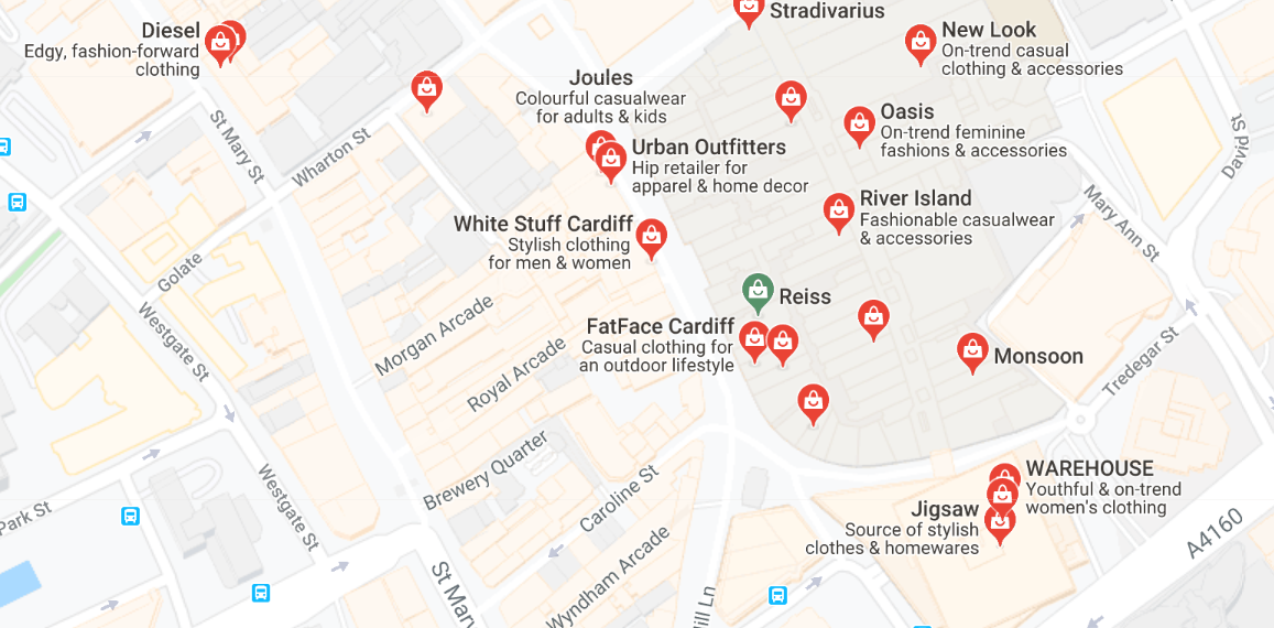 Paid ad in Google maps